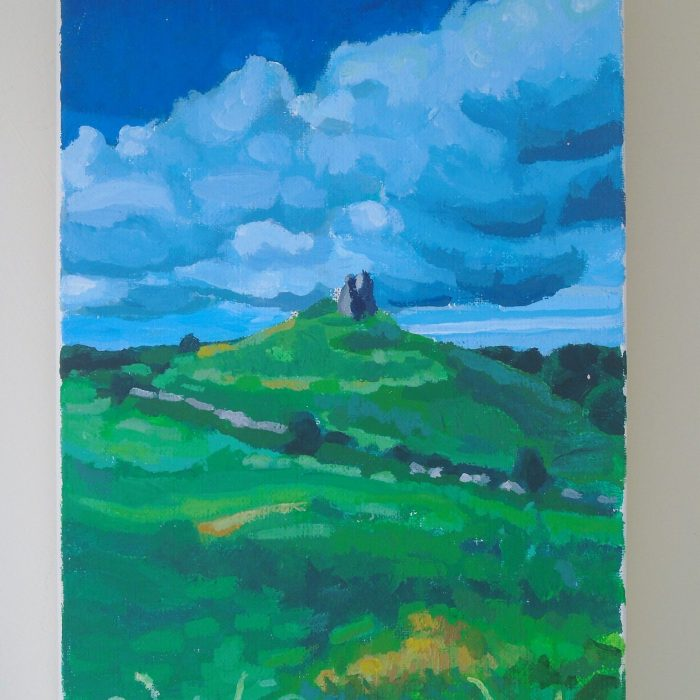 Landscape Painting of North Clare, Ireland by Irish Artist David O'Rourke. Painting 3 in a series of 3