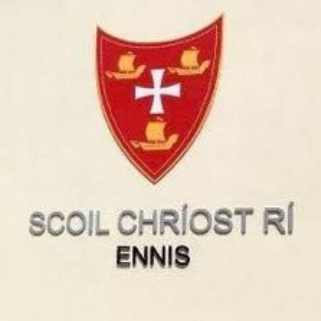 Scoil Chriost Ri Ennis Logo