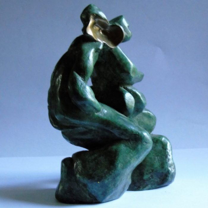 Bronze Sculpture Ireland titled Politics of the Family
