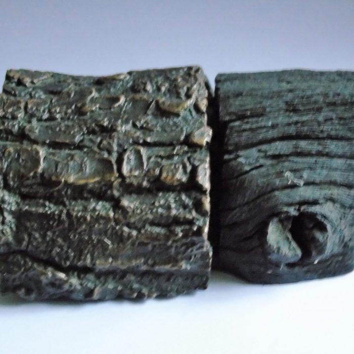 Sculpture Bronze and Bog Oak Ireland